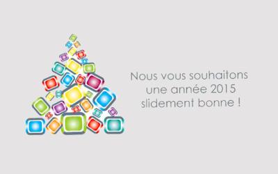 The Slide Agency vous présente ses meilleurs voeux pour 2015