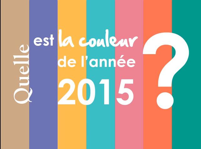 La couleur de l'année 2015