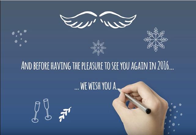 The Slide Agency vous présente ses meilleurs voeux pour 2016!