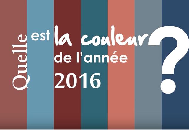 2016 Une année haute en couleurs!