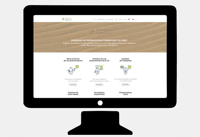 Le site Web de The Slide Agency a fait peau neuve!